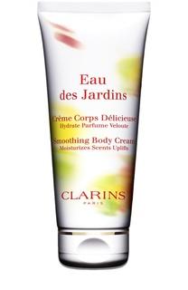 Крем для тела Eau des Jardins Clarins