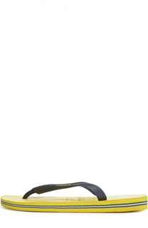 Резиновые шлепанцы Brasil Logo Havaianas