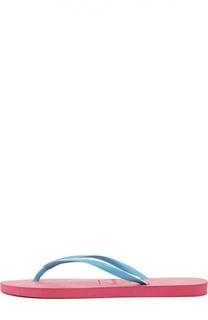 Резиновые шлепанцы Slim Logo Havaianas