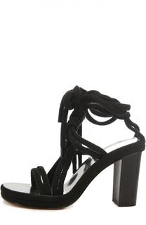 Плетеные босоножки Miana на шнуровке Isabel Marant
