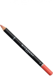 Карандаш для губ с точилкой Lip Liner, тон 04 Апельсин Givenchy