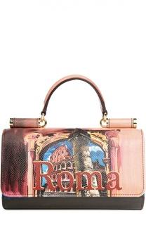 Кожаный чехол Mini Von для iPhone 6/6S Plus Dolce & Gabbana