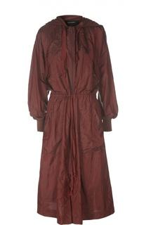 Удлиненная куртка-ветровка с поясом Isabel Marant