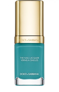 Лак для ногтей, оттенок 718 Turquoise Dolce & Gabbana
