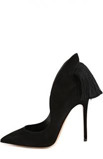 Замшевые туфли Louisa с кисточками Aleksandersiradekian