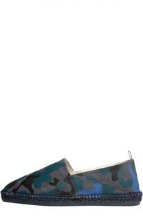Эспадрильи с камуфляжным принтом Castaner