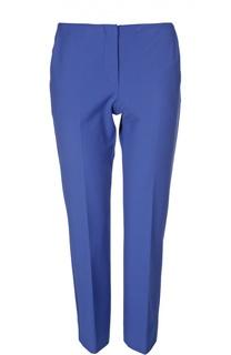 Укороченные прямые брюки с врезными карманами Armani Collezioni