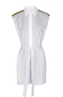 Мини комбинезон-рубашка с поясом Sonia Rykiel
