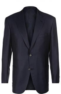 Пиджак из смеси шелка с шерстью Brioni