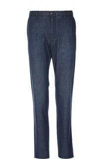 Прямые джинсы из эластичного хлопка Brioni