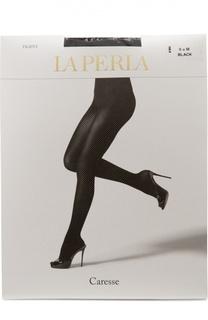 Черные капроновые колготки La Perla
