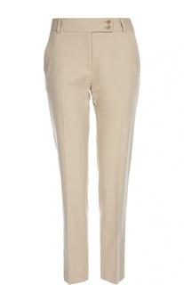 Прямые брюки со стрелками и врезными карманами Gerard Darel