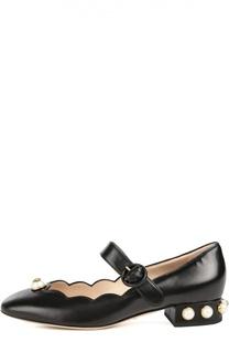 Туфли Willow с жемчужинами Gucci