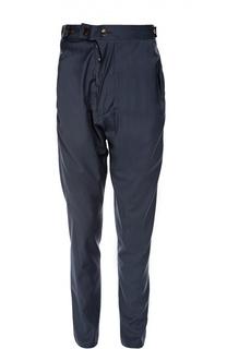Шерстяные брюки с заниженной линией шага Vivienne Westwood