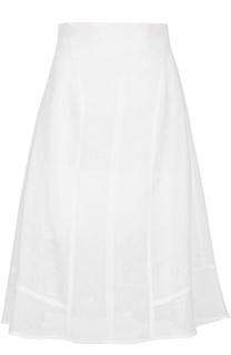 Льняная юбка-миди Michael Kors