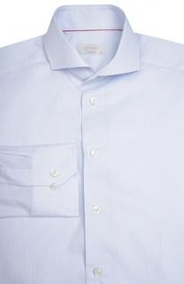 Полуприталенная сорочка в полоску Eton