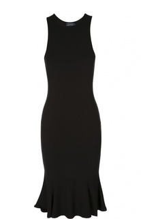 Приталенное платье без рукавов Polo Ralph Lauren