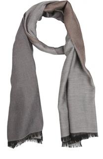 Двухцветный шарф Giorgio Armani