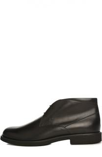 Кожаные ботинки Gomma Tod's
