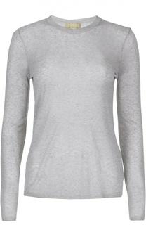 Приталенный пуловер с круглым вырезом Michael Kors