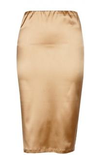 Шелковая юбка-карандаш с эластичным ремнем La Perla