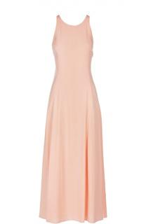 Приталенное платье-миди с открытой спиной Armani Jeans