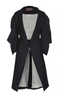 Пальто с широкими рукавами и поясом Jacquemus