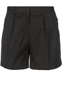 Хлопковые мини-шорты с защипами Dries Van Noten