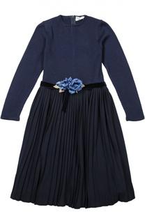 Платье с поясом Caf
