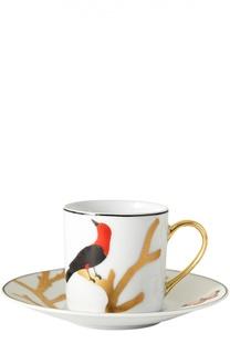 Кофейная чашка Aux Oiseaux Bernardaud