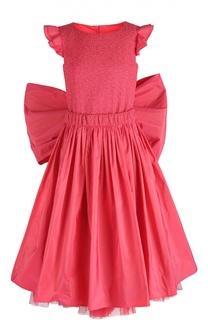 Платье с поясом и бантом Jean Paul Gaultier