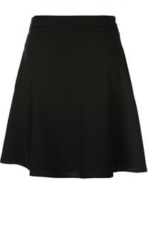 Мини-юбка А-силуэта с широким поясом Valentino