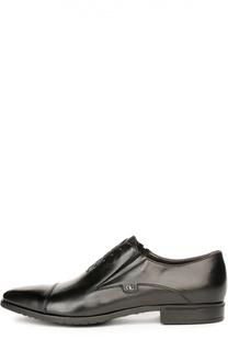 Кожаные туфли с имитацией шнуровки Aldo Brue