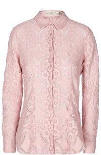 Кружевная блуза прямого кроя Burberry