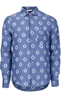 Рубашка с принтом и нагрудным карманом Capobianco