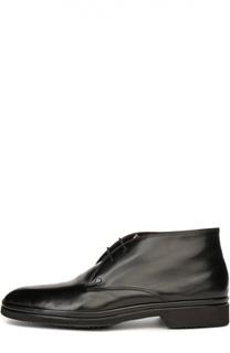 Кожаные ботинки с меховой стелькой Aldo Brue