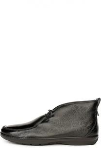 Кожаные полуботинки с меховой стелькой Aldo Brue