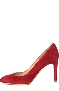 Замшевые туфли на шпильке Gianvito Rossi