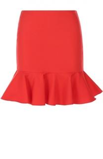 Мини-юбка с оборкой Polo Ralph Lauren