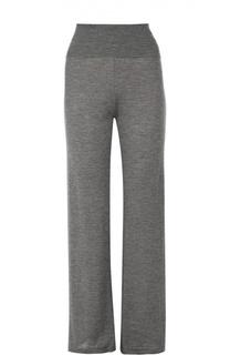 Кашемировые брюки прямого кроя с эластичным поясом Back Label