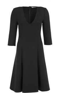 Приталенное платье с укороченным рукавом и V-образным вырезом Dorothee Schumacher