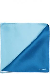 Шелковый платок с принтом Lanvin