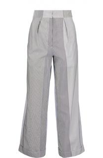 Широкие брюки прямого кроя в полоску Ports 1961