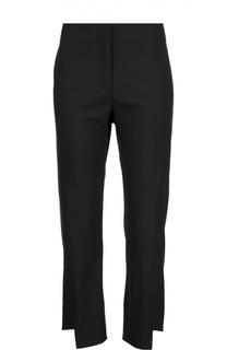 Шерстяные укороченные брюки асимметричного кроя Acne Studios