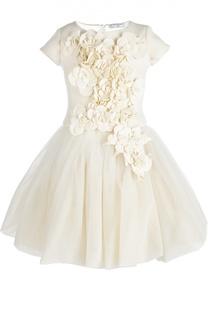 Платье с топом Monnalisa