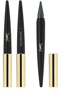 Средство для макияжа глаз 3 в 1 (карандаш-подводка-тени) Couture Kajal 04 YSL
