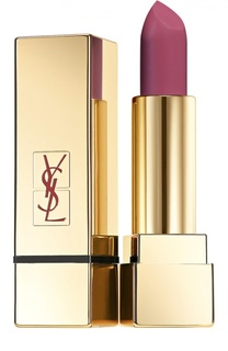 Помада для губ Lipstick Rouge Pur Couture The Mats, оттенок 207 YSL