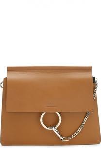 Кожаная сумка Faye Chloé