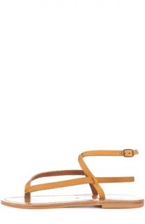 Сандалии Delta с ремешком на щиколотке K Jacques