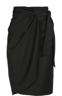 Шерстяная юбка-миди с запахом Isabel Marant Etoile